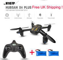 Hubsan X4 Plus H107P 2.4G 4CH RC Quadcopter Helicopter Altitude Hold Model RTF Headless Mode with Led Lights Drone