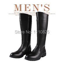 Free shipping, 2014 spring and autumn men's boots, riding boots, height increasing shoes.(China (Mainland))