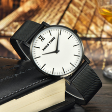New MISSTIME ultra thin watch swiss quartz movement lover timepiece Casual Watch Dress luxury timepieces relogio