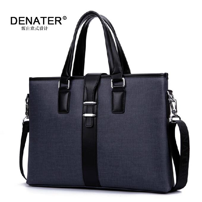2015 Men Casual Briefcase Business Shoulder Bag Designer Brand Men Messenger Bags Computer Laptop Handbag Bag Men's Travel Bags