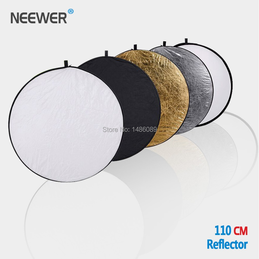 neewer 110cm 43 inch 5 in 1 collapsible multi disc light reflector in photo studio accessories. Black Bedroom Furniture Sets. Home Design Ideas