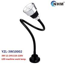 3W 24V 220V industrial CNC lathe equipment lamp/energysaving Sewing Machine LED Light/with flexible long arm /hose(China (Mainland))
