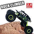 RC Car 4x4 Driving Rock Crawlers Off Road Car Bigfoot Double Motors Drive Car 4CH 4WD