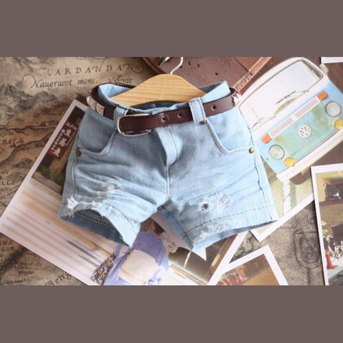 Как кукле сделать шорты