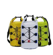 NEW PVC bag 40 liter rafting waterproof outdoor travel packs ultralight compression dry Kayak Boat equipment dry bag(China (Mainland))