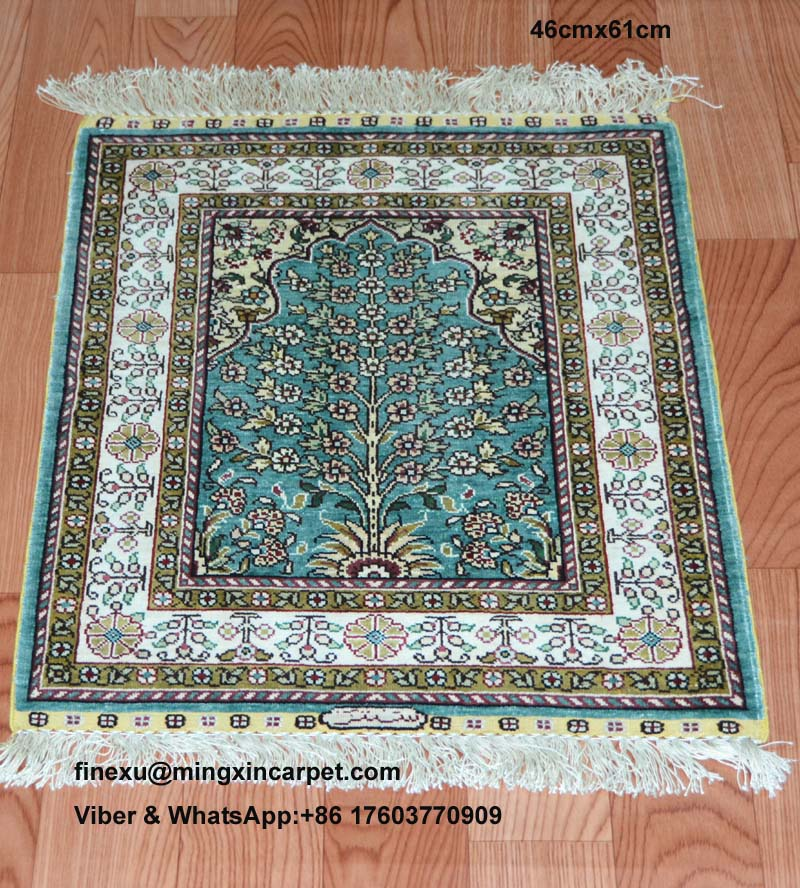 46cmx61cm 100 pure silk handknotted persian carpet best for Best selling rugs