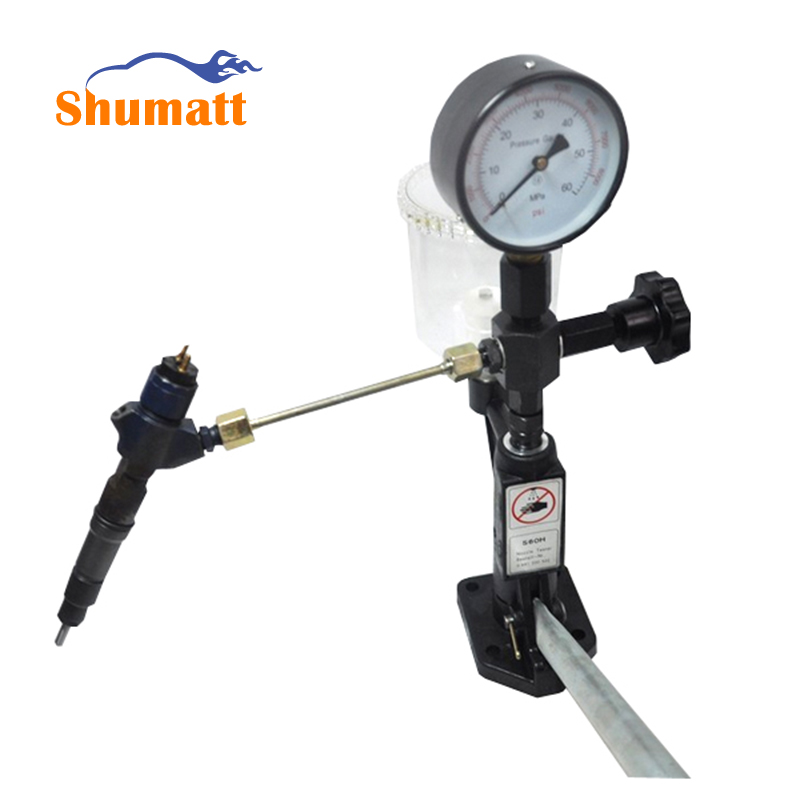 Diesel Fuel Injector Common Rail Injection Pump Nozzle Tester Calibrator Tools 0-400 BAR / 0-6000 PSI Dual Scale Gauge CRT012(China (Mainland))