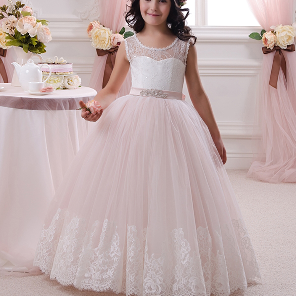 pale pink flower girl dresses uk wedding dresses asian