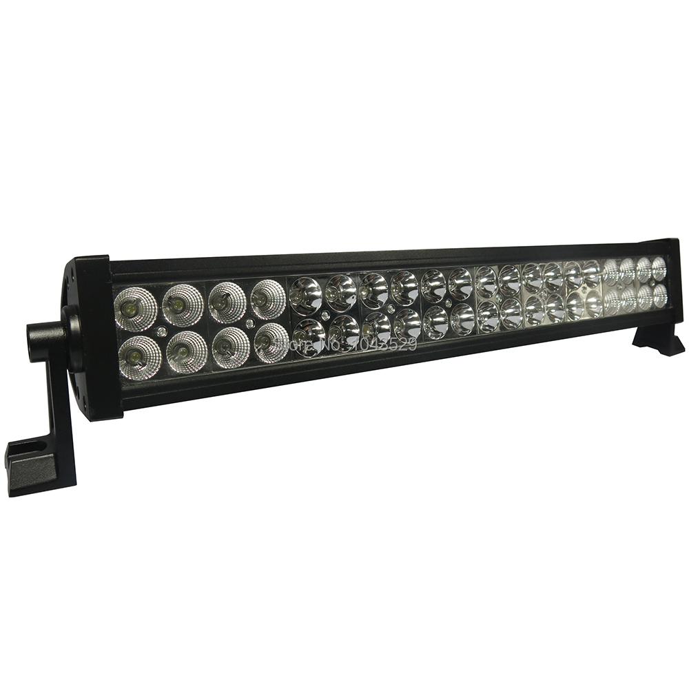 Industrial Led Light Bar: 120W LED Work Light Bar IP67 Spot Flood Combo Beam