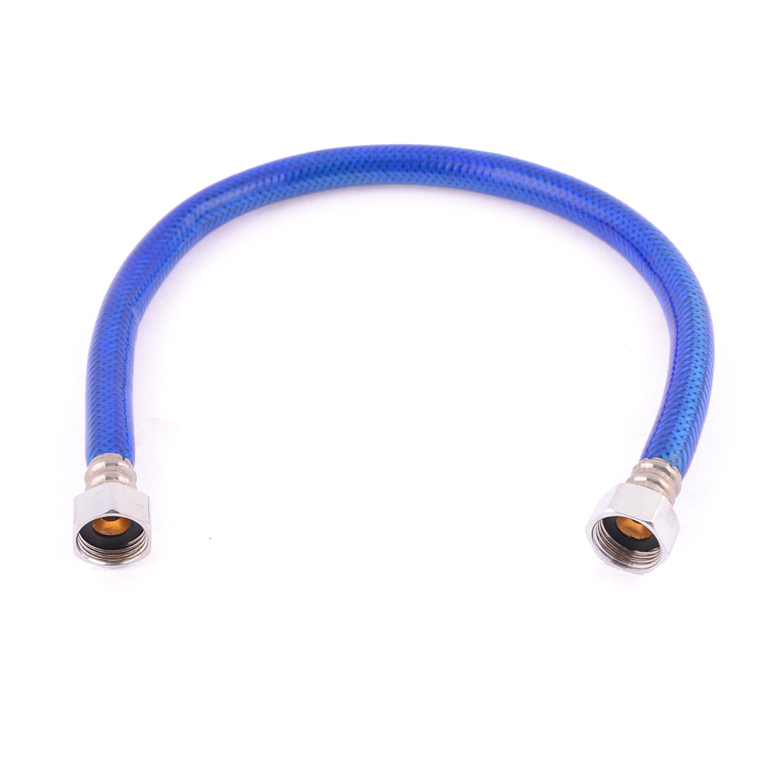 19mm Threaded Flexible Shower Hose Water Heater Connector Pipe Blue 50cm Long Discount 50(China (Mainland))