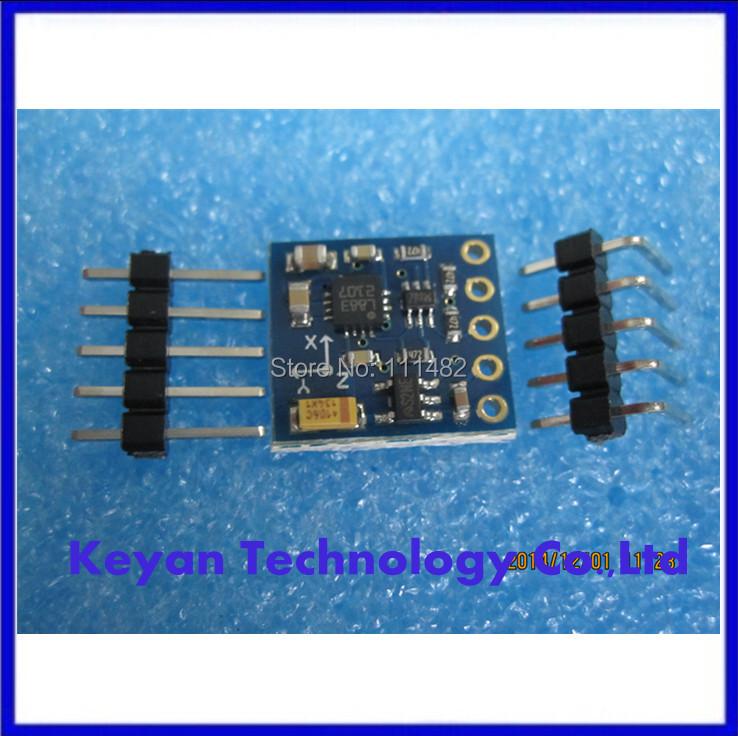 5PCS/LOT ,GY-271 , HMC5883 , HMC5883L, module electronic compass compass module three-axis magnetic field sensor(China (Mainland))