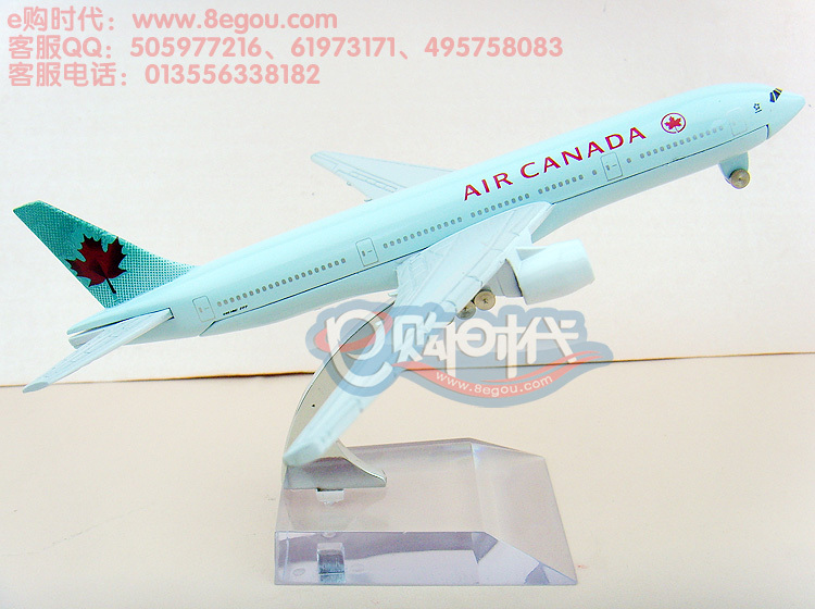 HOT! Canada Boeing 777 aircraft 16cm metal alloy model aircraft model plane model airplane aviation memorabilia collectibles(China (Mainland))