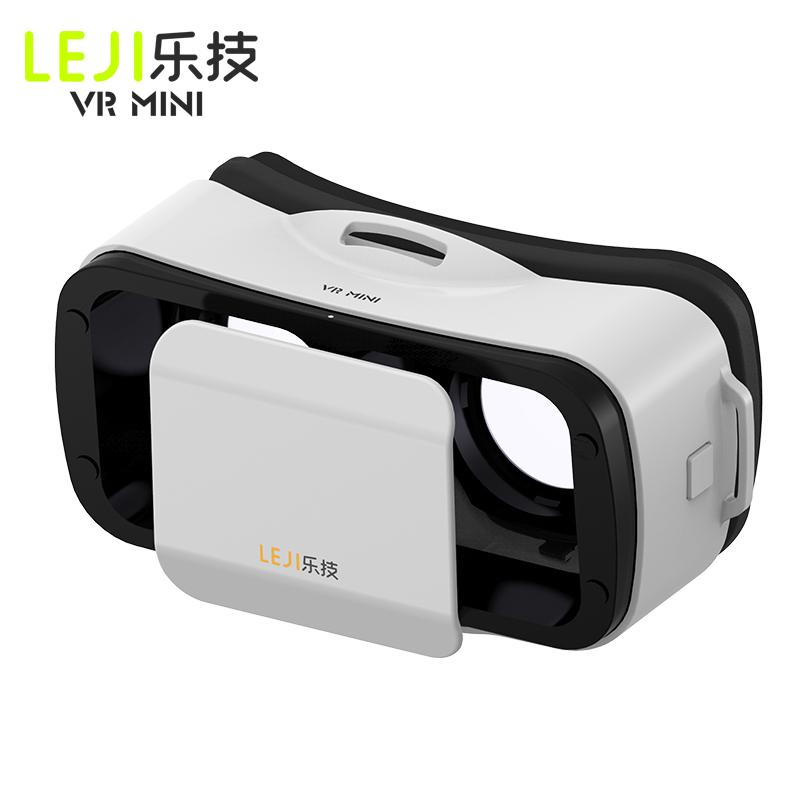 NEW BOX III 3 LEJIVR Mini Headmount VR Virtual Reality Glasses 3D Game Movie for Plus se - Immersive google cardboard oculus(China (Mainland))