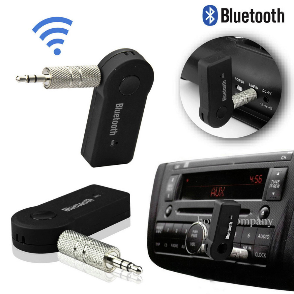 Bluetooth Music Audio Stereo Adapter Receiver for Car AUX IN Home Speaker MP3 Worldwide Store(China (Mainland))