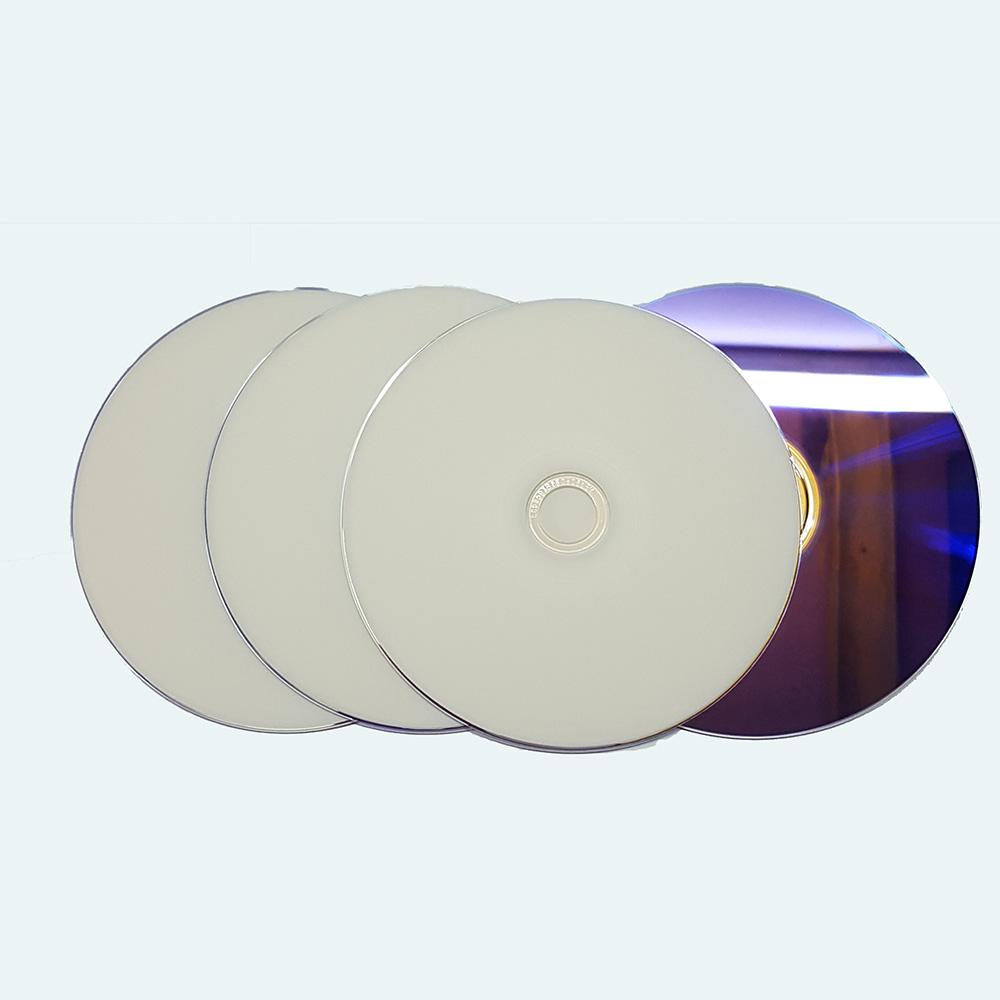 4 pack Blank full Hub Printable 240min DVD+R DL 8x Dual Layer 8.5GB D9 DVD DL(China (Mainland))