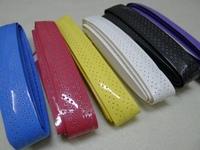 Free Shipping 10Pcs/Lot Anti-skid Sweat Absorbed EVA Badminton Racket Grip Taps Tennis Racquet Overgrips