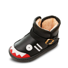 Children shoes Children Snow Boots Fur Winter Boys Girls Shoes Kids child snow boots Size 24-35 brand fashion Shoes tx0665(China (Mainland))