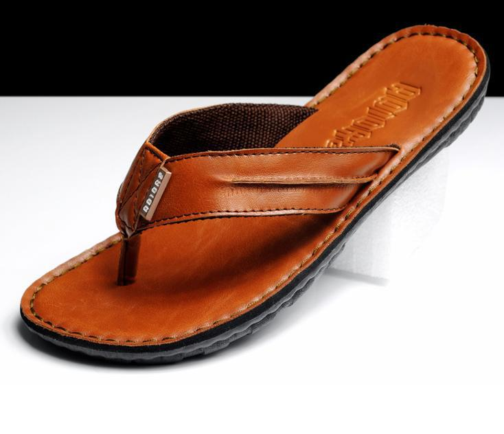Mens Sandals Slipper shoes men's Breathable beach shoes ...