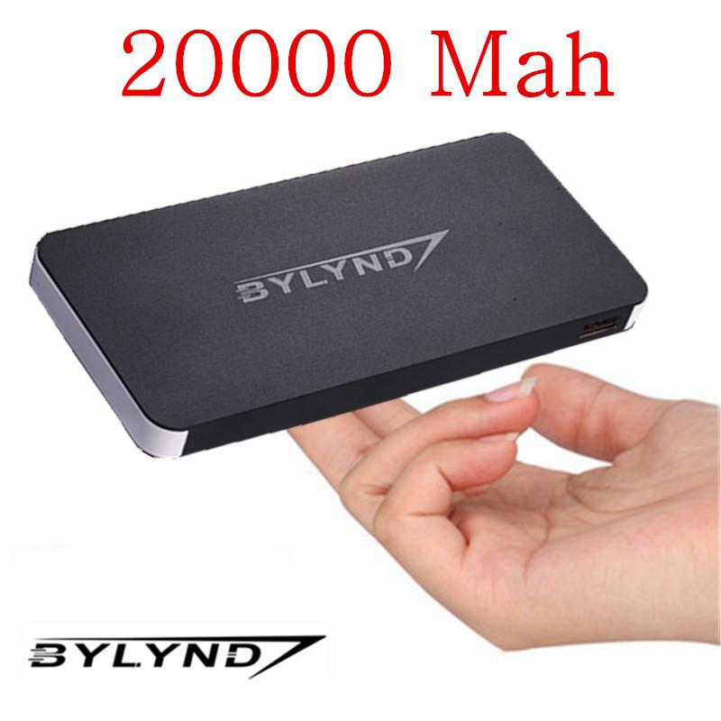 Dual USB 20000mah Power Bank Portable external battery pack Charger emergency battery charger Powerbank cargador portatil movil(China (Mainland))