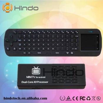 MK808B Android 4.2.2 Mini PC RK3066 A9 Dual Core HMDI Bluetooth TV Box MK808+RC12 Wireless Keyboard Air Fly Mouse