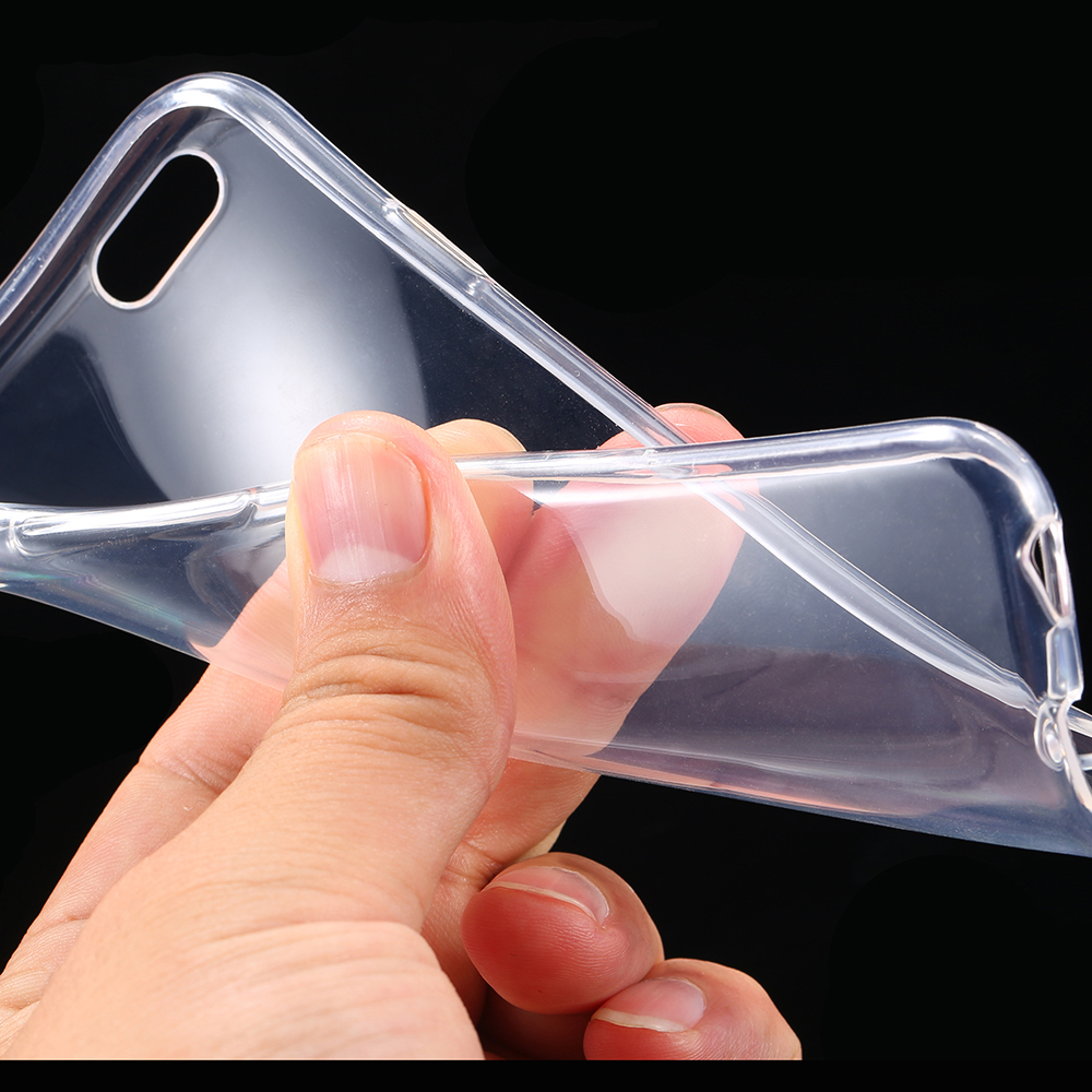 Ultra Thin Soft TPU Gel Original Transparent Case For iPhone 5 5S 5G Crystal Clear Silicon Back Cover Phone Bags For IPhone5 I5(China (Mainland))