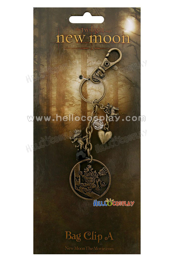 Free Shipping Twilight New Moon Lion And Lamb Metal Bag Clip Tailor-Made(China (Mainland))