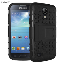 For Samsung Galaxy S4 Case Heavy Duty Armor Shockproof Hybrid Hard Rugged Rubber Phone Case Cover For Samsung S4 i9500 i337 <*(China (Mainland))