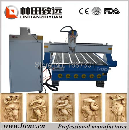 wood cabinet making machine,hobby wood processing cnc router 1325 vacuum table(China (Mainland))