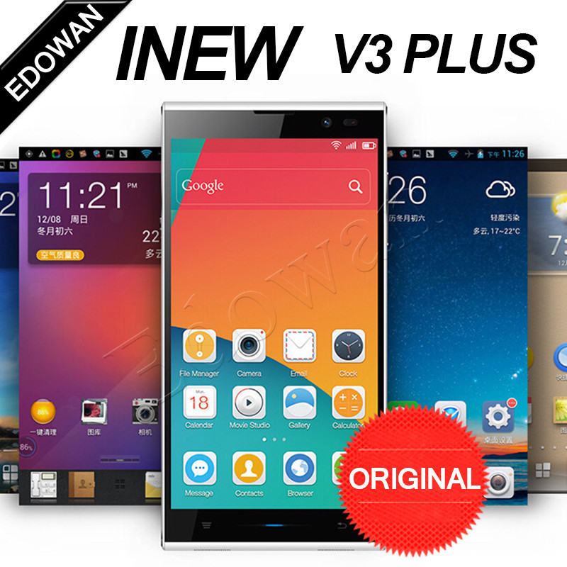 HOT Inew V3 Plus MTK6592M Octa Core Inew V3C 1.4GHz Cell Phone Android 4.4 2GB RAM 16G ROM 13.0MP 5.0'' 720p 3G WCDMA OTG(China (Mainland))