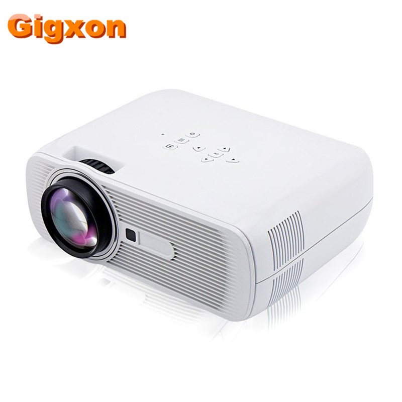 Gigxon g80 2016 best mini led projector 1000 lumens 1080p for Hd projector small