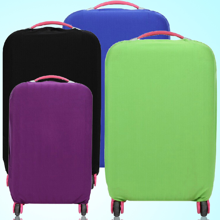candy color Elastic fabric Luggage Cases Dust cover - pure color design Trolley Case(China (Mainland))