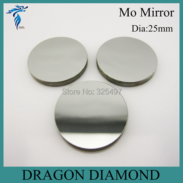 High Quality Mo Reflective Mirror Reflector 3pcs Diameter 25mm Co2 Laser Mirror For Laser Cutting Machine(China (Mainland))