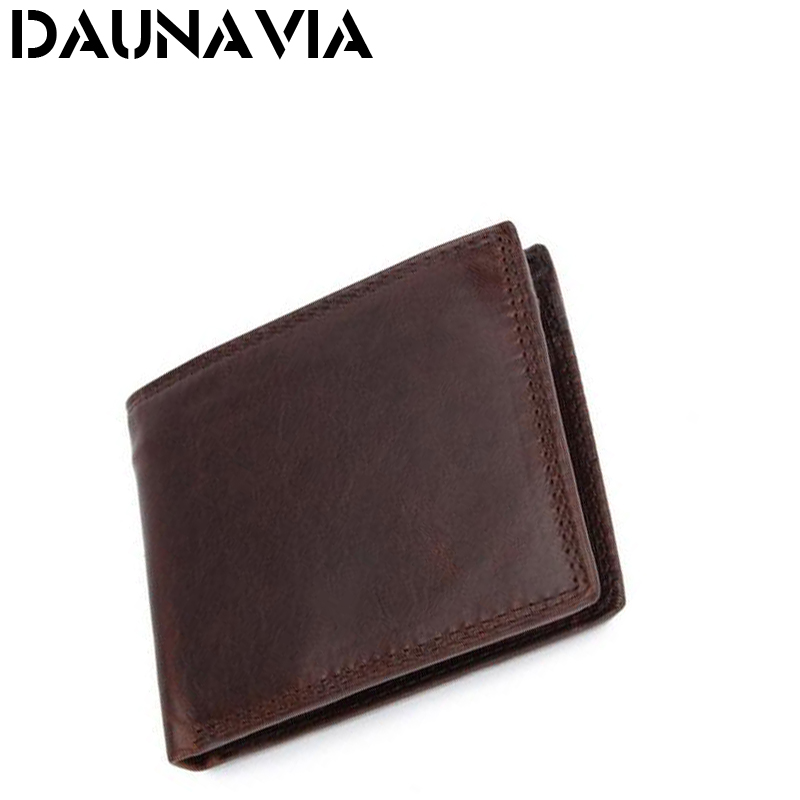 Vintage Casual Men wallets Genuine Leather Oil Wax Leather Cowhide Men Short Bifold multi-function card holder wallet purse(China (Mainland))