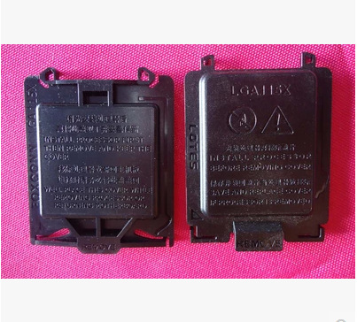 500x Motherboard socket 1156 115X CPU Protector Cover for FOXCONN d new(China (Mainland))