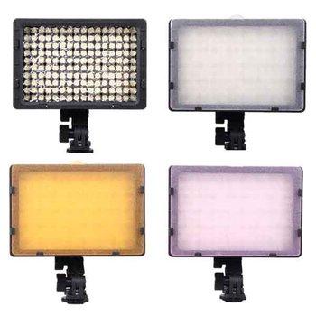 Free Shipping+Drop Shipping  CN-160 160 LED Video Light DV Camera Camcorder Lighting 5400K For Cacon Nikon Camera Light