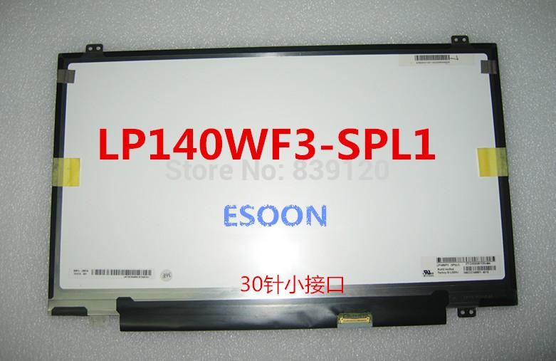 14.0 FHD 1920*1080 LP140WF3(SP)(L1) LP140WF3-SPL1 LP140WF3 SPL1 lcd display<br><br>Aliexpress