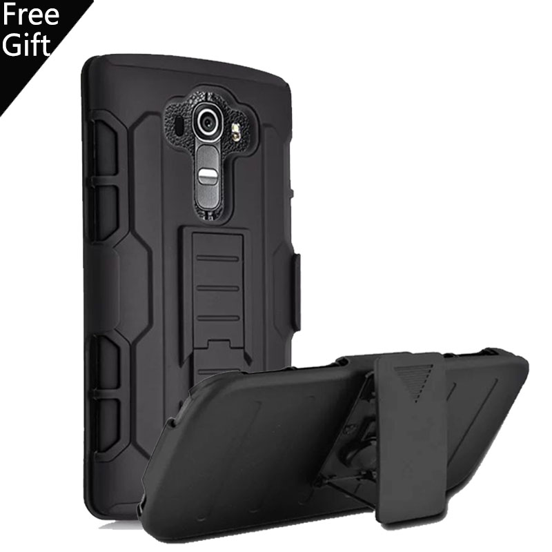 For LG V10 H968 F600 Soft Silicone + PC Heavy Duty Armor Case Outdoor Sports holster Stand Shock Proof Cover(China (Mainland))
