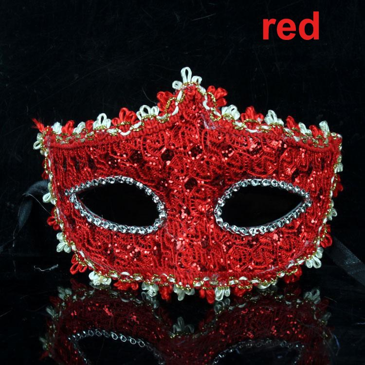 Sexy Lace Rhinestone Leather Plastic Mask Masquerade Princess Mask Ball Wedding Party Halloween Holiday Cosplay Mask Decoration(China (Mainland))