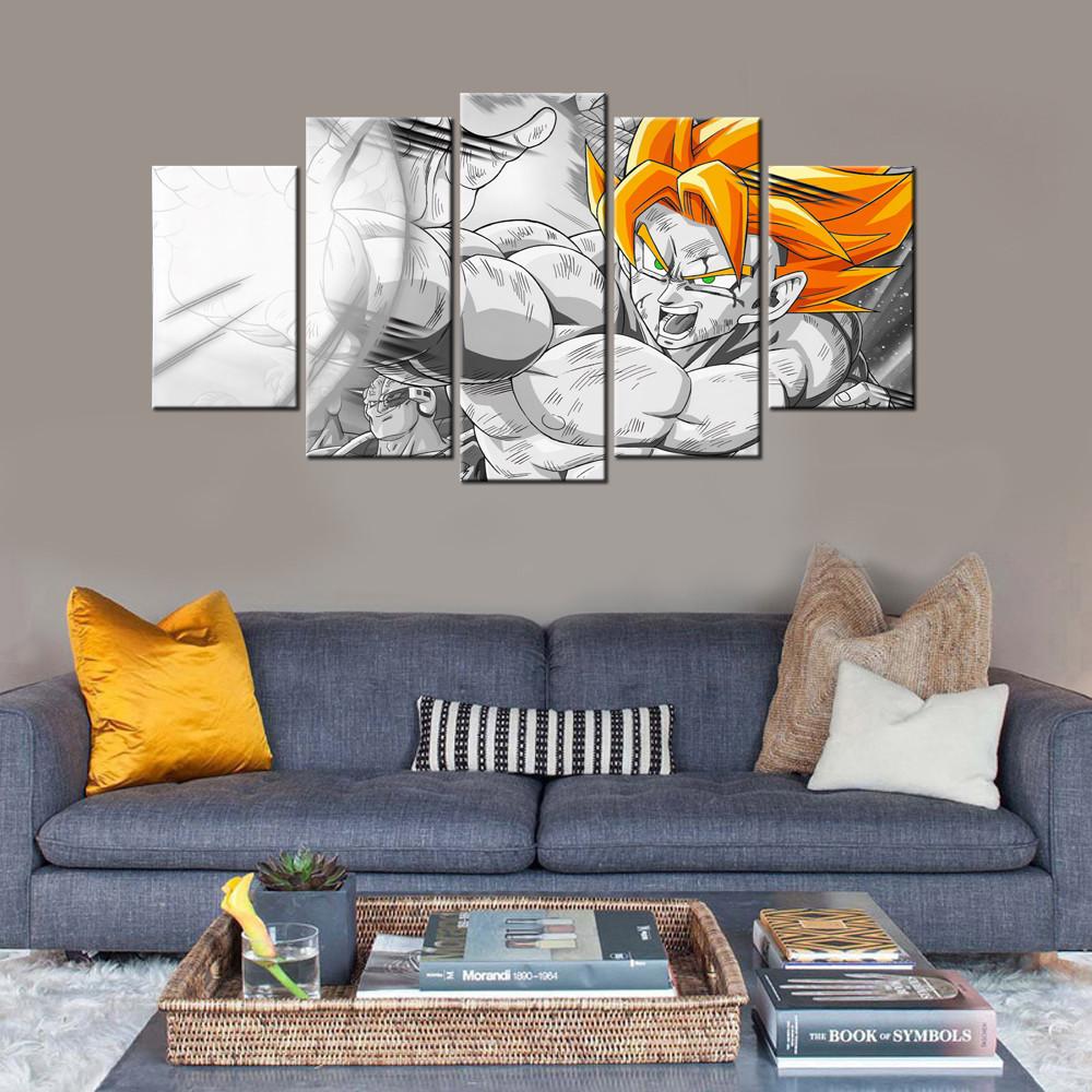 Dragon ball z bedroom decor for Dragon ball z bedroom