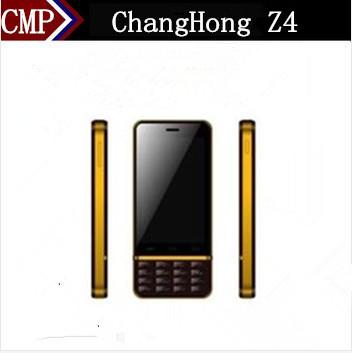 "Original ChangHong Z4 Cell Phone MTK6577 Dual Core Android 4.0 4.0"" WVGA 512MB RAM 2GB ROM 5.0MP WCDMA 3G 4000mAh Big Battery(China (Mainland))"