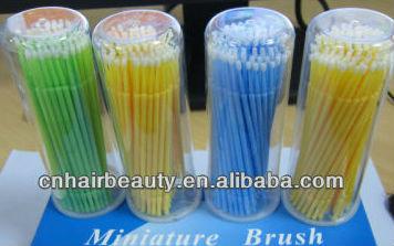 Free shipping wholesale stock makeup brush eyelash tools colorful 100pieces per box microbrush for eyelash miniature brush<br><br>Aliexpress