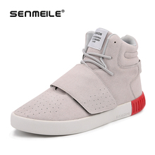 2016 new style 4 colors high-top Massage and Thermal Yeezy Casual Shoes for men 827 large inventory(China (Mainland))