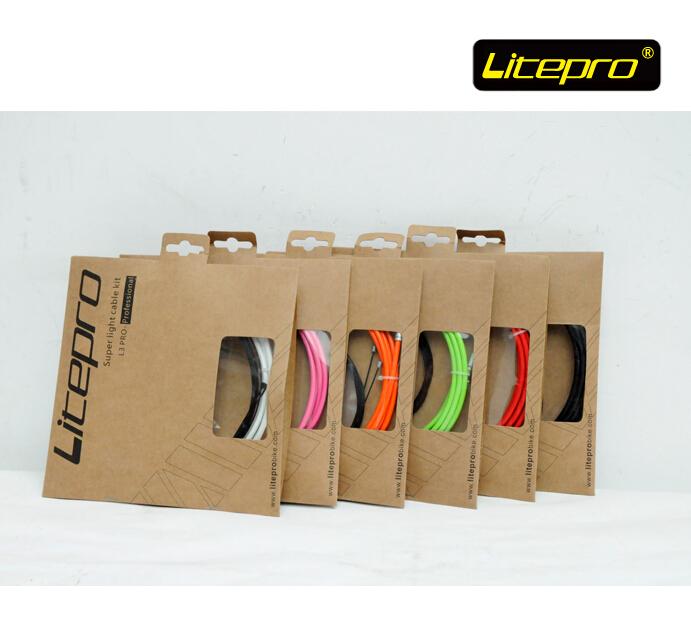 Litepro folding bike bicycle brake cable shifter cable set bmx brake bmx parts<br><br>Aliexpress