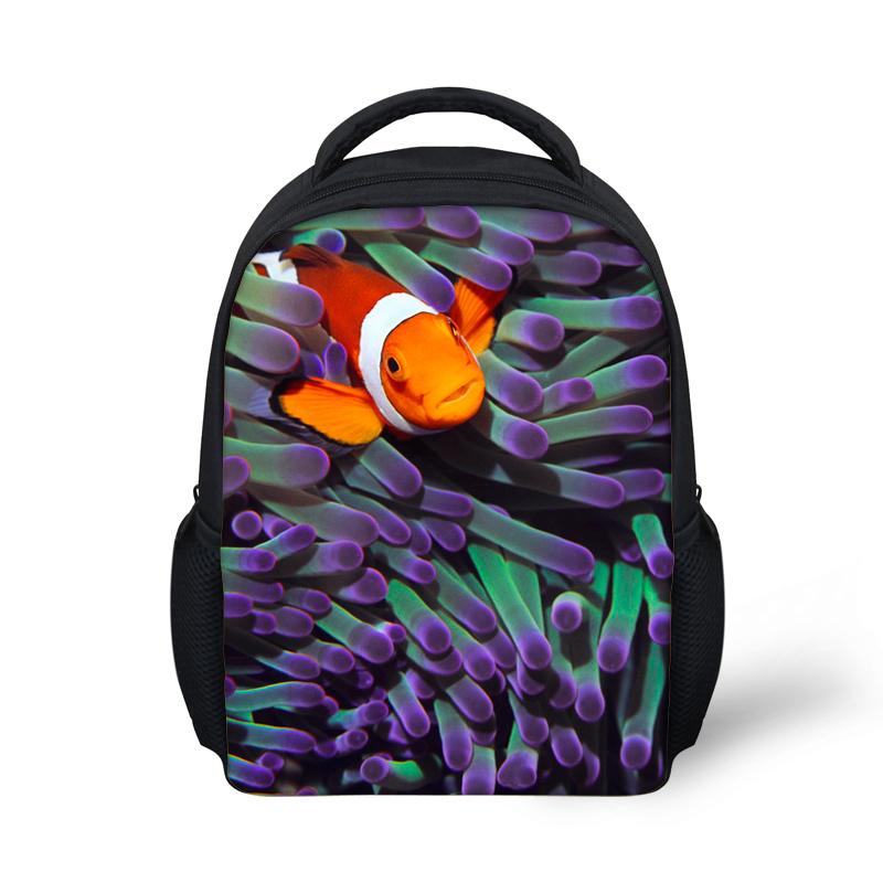 Детские рюкзаки детский сад бади сумки для мальчиков детские, каваи тропические рыбы печать мультфильм школьные сумки книгу mochila эсколар