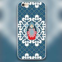 Little Matryoshka Design black skin case cover cell mobile phone cases for Apple iphone 4 4s 5 5c 5s 6 6s 6plus hard shell