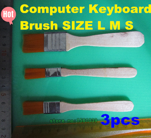 Cleaning Brush Soft Clean Sweep LED LCD Monitor Screen Cleaner Computer Keyboard Brush SIZE L M S(China (Mainland))
