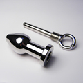Stainless Steel Anal Plug Metal Anal Toys Butt Plug Sex Toys For Adult Bondage Gear BDSM