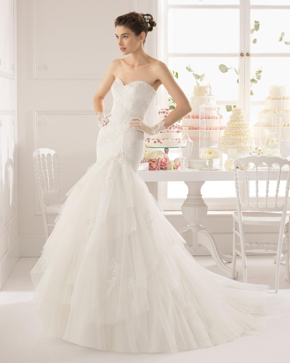 2015 Western Wedding Dress