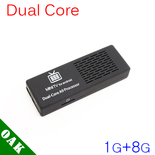 Free Shipping - MK808B Dual-core Android TV Box RK3066 (1GB+8GB) Support Bluetooth/WiFi/1080P Factory Price(China (Mainland))