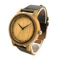 2016 New Wooden Watch Luxury Brand Round Wood Case Women Men Quartz Clock Relogio Masculino